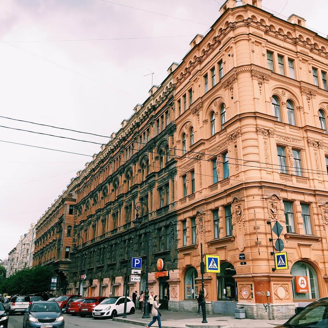"""Меблированный дом """"Пале-Рояль"""" Пушкинская улица, 20"""