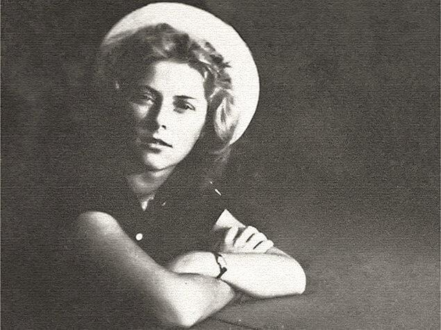 Мария Васильчикова в юности