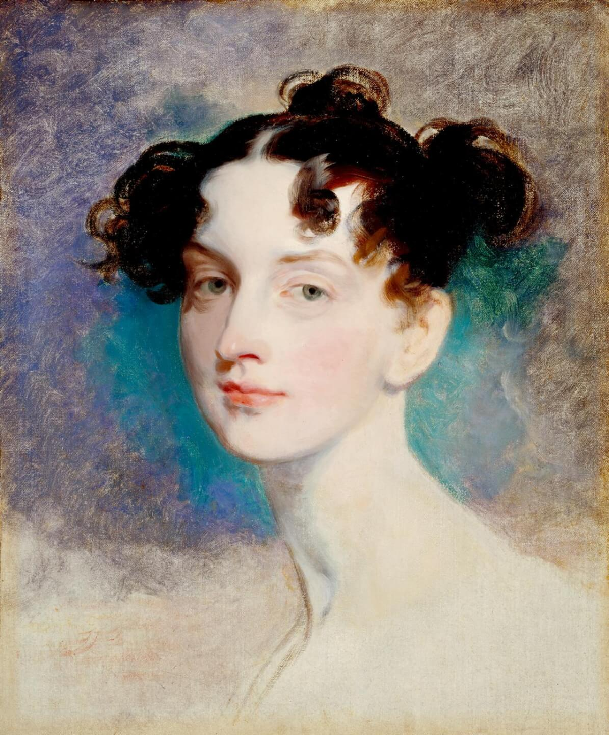 Princess Lieven 1812-20 Sir Thomas Lawrence 1769-1830 Purchased 1871 Из коллекции Тейт