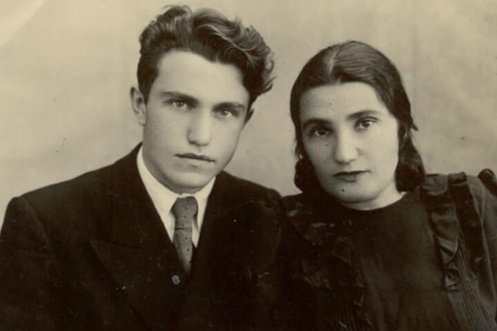 Евгения Гинзбург с сыном Василием Аксёновым
